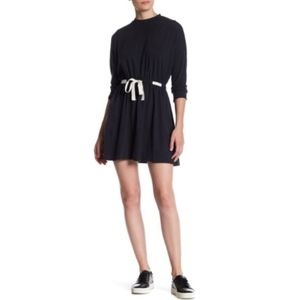 Topshop Dolman Drawstring Dress